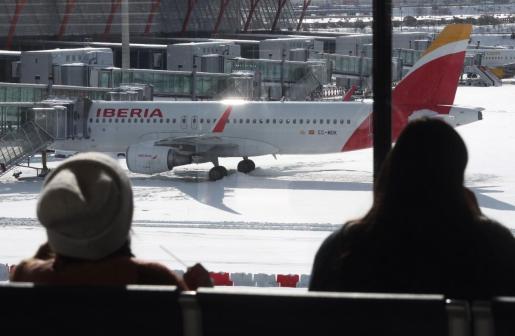 Vista del aeropuerto Madrid Barajas-Adolfo Suárez.