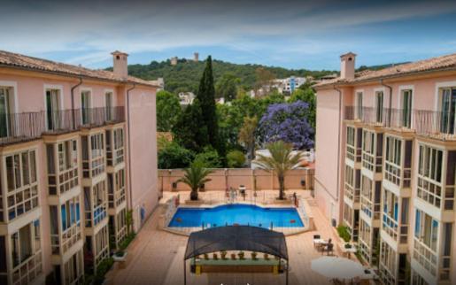Imagen de la residencia de la tercera edad Fontsana, de Palma.