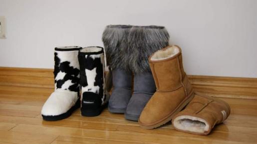 Estas botas constituyen uno de los calzados de invierno más cómodos y calentitos.