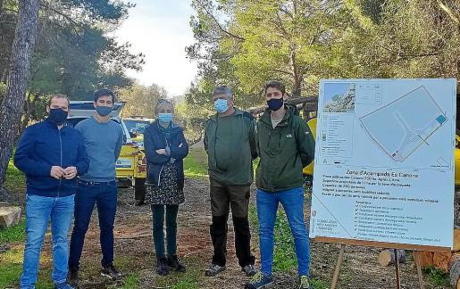 A finales de año la Conselleria de Medi Ambient presentó la zona de acampada.