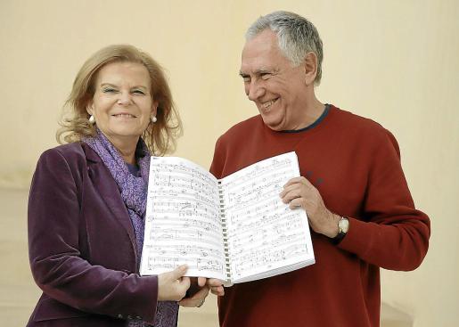 Carme Riera y Antoni Parera Fons son los autores de la ópera sobre el Arxiduc, un encargo del Govern.