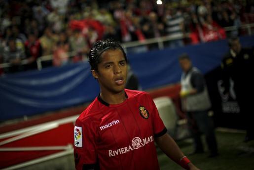 Giovanni Dos Santos, durante el partido ante el Sevilla.