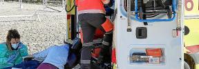 Herida grave una jinete tras caer de su caballo en un club de hípica de Bunyola