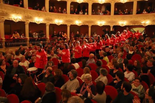 Imagen de archivo de un concierto en el Principal de Maó.