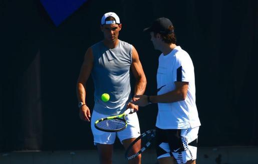 Carlos Moyà y Rafa Nadal en una imagen de archivo.