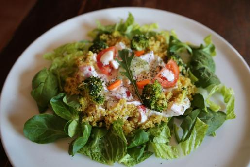 Se recomienda comenzar los menús con vegetales.