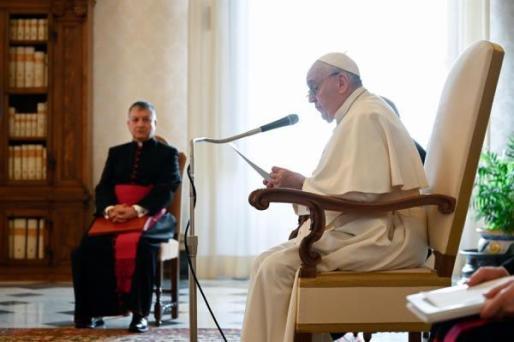Está previsto que el Papa Francisco reciba la segunda dosis de la vacuna en tres semanas.