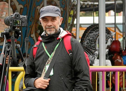 El realizador y gestor cultural Julio Lamaña vive en Colombia desde hace tres años.