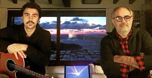 El músico Joan Arto y el actor Pep Tosar llevan a cabo este proyecto que aúna música y literatura.