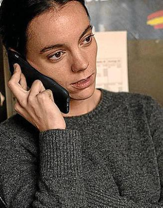 Vicky Luengo en su papel en 'Antidistrurbios'.