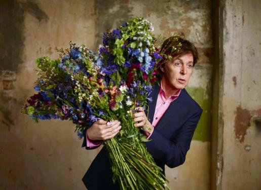 Imagen de principios de año del ex-Beatle Paul McCartney.