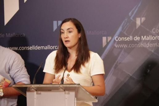 Beatriz Camiña, de Ciudadanos en el Consell.