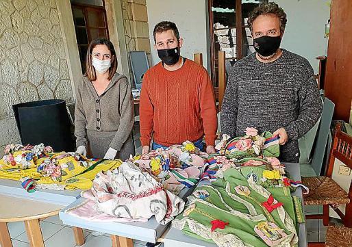 Catalina Mas, Biel Mayol y Joan Socies fueron los encargados de realizar el trabajo de manera voluntaria.