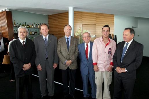 Ramón Rufín, Miguel Ángel Vázquez, Esteve Bardolet, Miquel Vidal, Paulí Buchens Mir y Miquel Font.