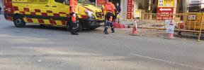 Herido grave un trabajador tras sufrir una descarga en una obra en Palma
