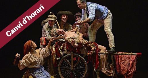 Una obra de teatro dirigida por José Carlos Plaza.