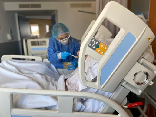 El hospital Sant Joan de Déu atiende principalmente a pacientes de perfil geriátrico.
