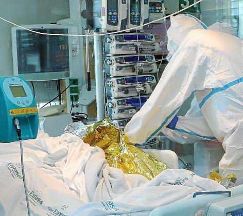 En UCI de Son Espases hay más de 50 pacientes críticos.