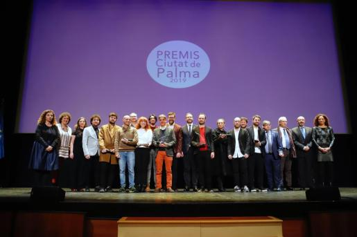 La edición precedente de los Ciutat de Palma se vistió de gala para homenajear a los ganadores. Este año deberán esperar.