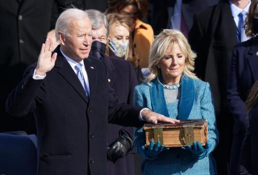 Joe y Jill Biden ya son los nuevos inquilinos de la Casa Blanca.