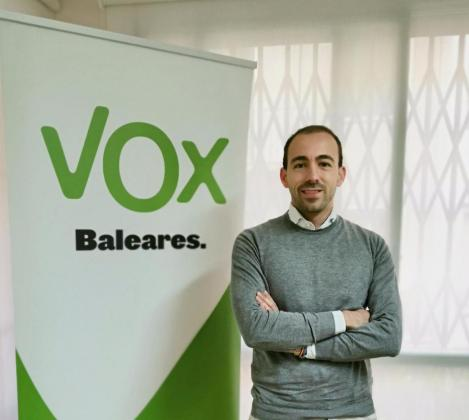 Sergio Rodríguez Garí, nuevo coordinador de Vox Palma.