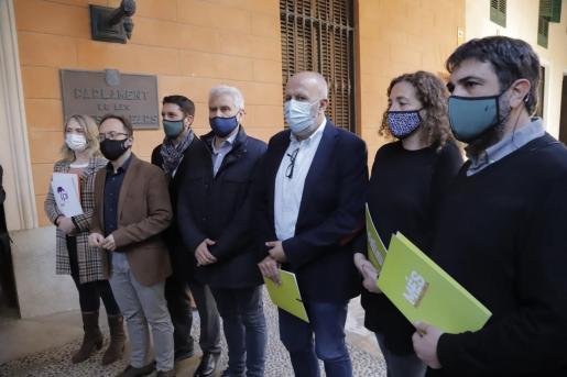 Las formaciones Proposta per les Illes (Pi), Més per Mallorca y Més per Menorca han instado este jueves al Parlament a presentar un recurso de inconstitucionalidad contra los Presupuestos Generales el Estado.