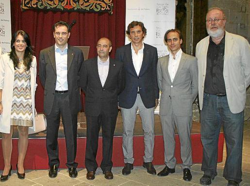 Esperanza Crespí, Jaume Juan, Antonio Gómez, Mateo Isern, Álvaro Gijón y Pedro Barbadillo.