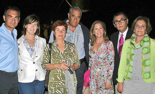 Gabriel Ferret, Paola Obrador, Magdalena Esteva, Carlos Ferret Sobral, Teresa Martorell, Javier Cortés y Marta Fuchs.