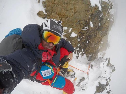 Consternado por la noticia del montañero Sergi Mingote.