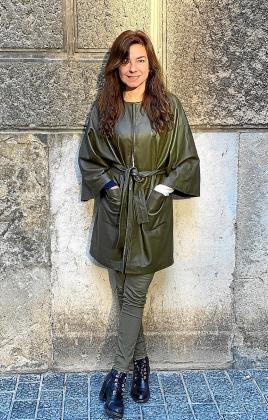 Alicia Framis posa en Palma para este diario.