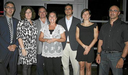 Diego Riera, Cecilia Sánchez, Bartomeu Berga, Laly Valdivieso, Biel Mir, Bárbara Pizá y Miguel Bonnín.
