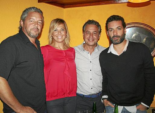 Bernat Bonnín, Victoria Maldi, Xisco Barceló y Jaume Anglada.