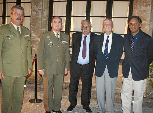 Antonio López Escribano, Teodoro Pou, Antonio Diéguez, Bel Oliver, Antoni Terrassa y Adolfo Orozco.