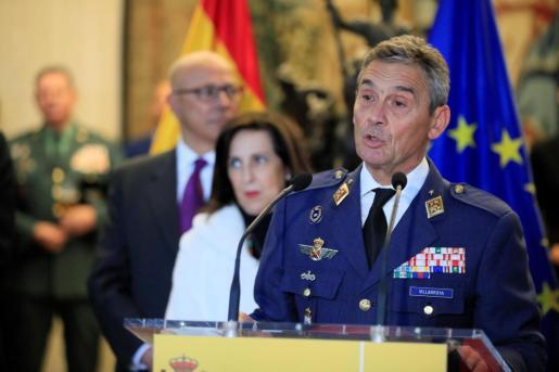Fotografía de archivo del 17/01/2020 del jefe del Estado Mayor de la Defensa (JEMAD), general Miguel Ángel Villaroya.