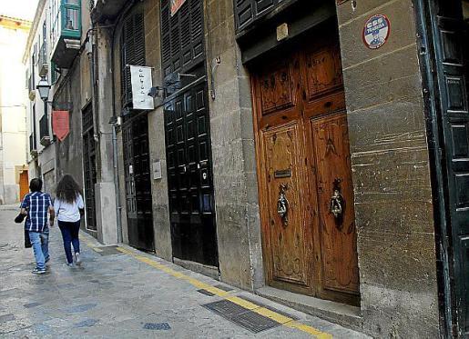 El despacho estaba en el centro de Palma.