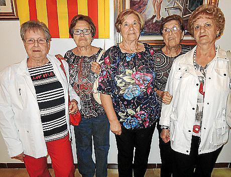 Catalina Company, Joana Fiol, Maria Oliver, Catalina Horrach y Maria Fiol.