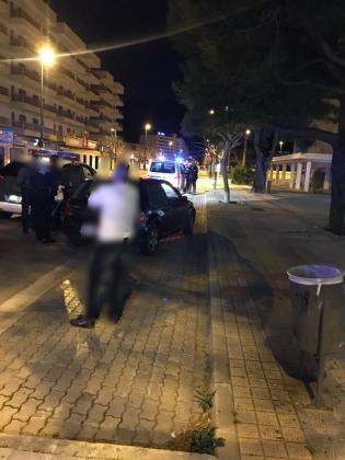 El conductor fue detenido por agentes de la Guardia Civil y de la Policía Local de Alcúdia