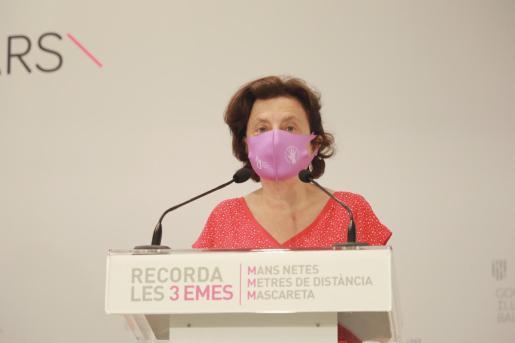 La consellera d'Afers Socials, Fina Santiago.