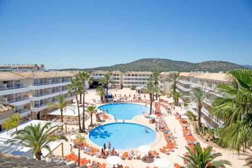 Imagen del hotel BH Mallorca, uno de los más emblemáticos del complejo hotelero del Grupo Cursach.