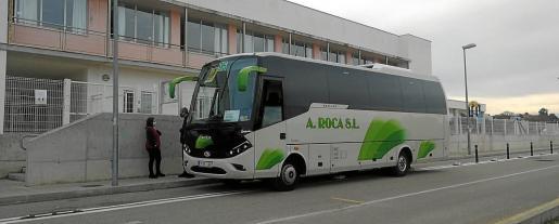 La Conselleria d'Educació ha puesto a disposición de los nuevos alumnos un bus para el traslado hasta Inca.
