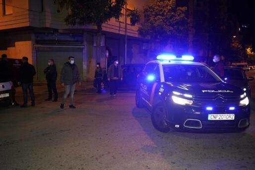 La rápida actuación de la Policía Nacional y Policía Local de Palma evitó males mayores.