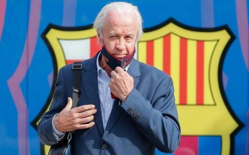 Carles Tusquets, presidente de la Junta Gestora del Barça.
