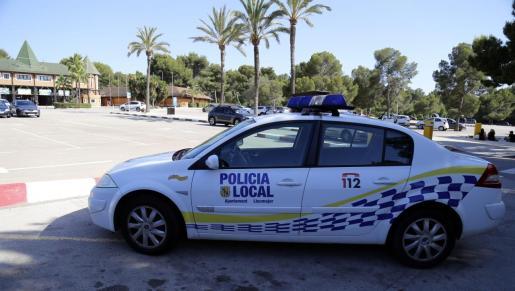 Imagen de archivo de un vehículo de la Policía Local de Llucmajor.