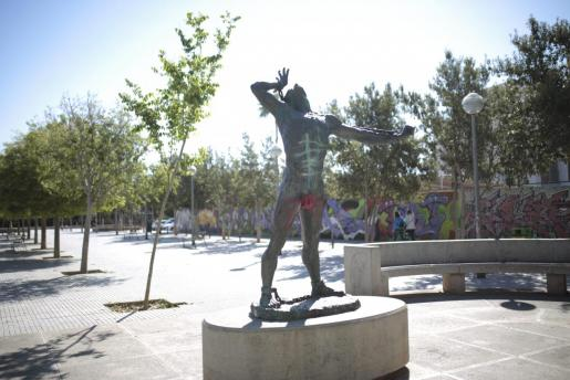 Una escultura de Joanot Colom, el líder de la Germania, de Jaume Mir.