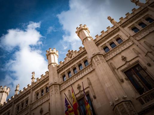 Fachada de la sede del Consell de Mallorca.