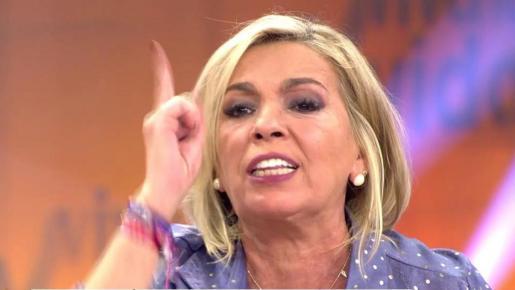 Carmen Borrego, aterrada, denuncia haber recibido «anónimos y amenazas de muerte»