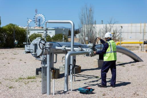 El hidroducto se ha diseñado, según Redexis, «para que tenga capacidad para distribuir el hidrógeno renovable» generado en la planta de Lloseta.
