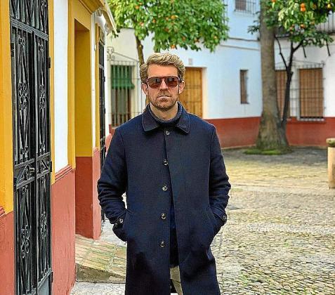 Edu Ribas Sevilla vive en Sevilla. El mallorquín más sevillano.
