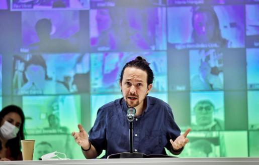 Imagen de archivo del líder de Podemos.