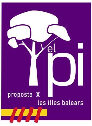 Logotipo del PI, presentado hoy.